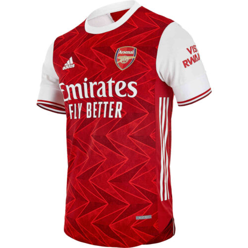 2020/21 adidas Pierre-Emerick Aubameyang Arsenal Home Authentic Jersey