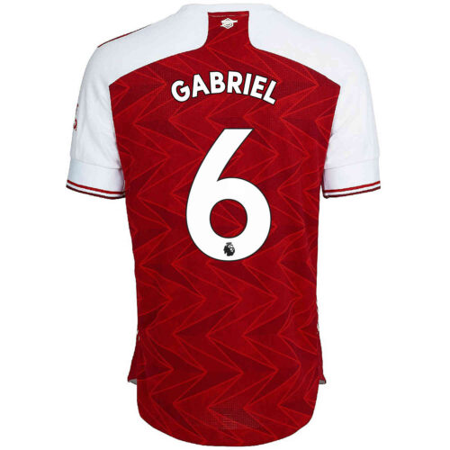 2020/21 adidas Gabriel Arsenal Home Authentic Jersey
