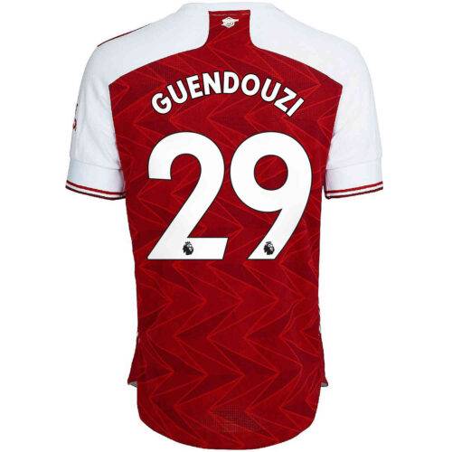 2020/21 adidas Matteo Guendouzi Arsenal Home Authentic Jersey