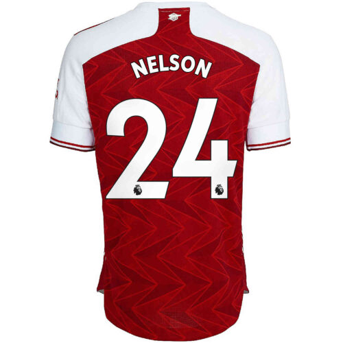 2020/21 adidas Reiss Nelson Arsenal Home Authentic Jersey