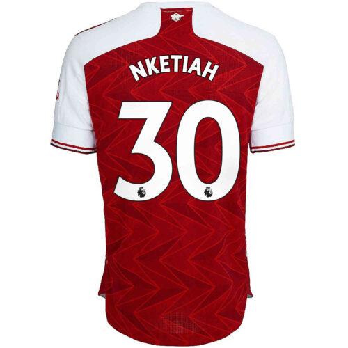 2020/21 adidas Eddie Nketiah Arsenal Home Authentic Jersey