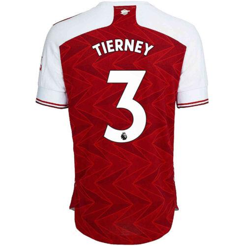 2020/21 adidas Kieran Tierney Arsenal Home Authentic Jersey