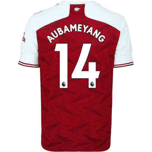 2020/21 Kids adidas Pierre-Emerick Aubameyang Arsenal Home Jersey