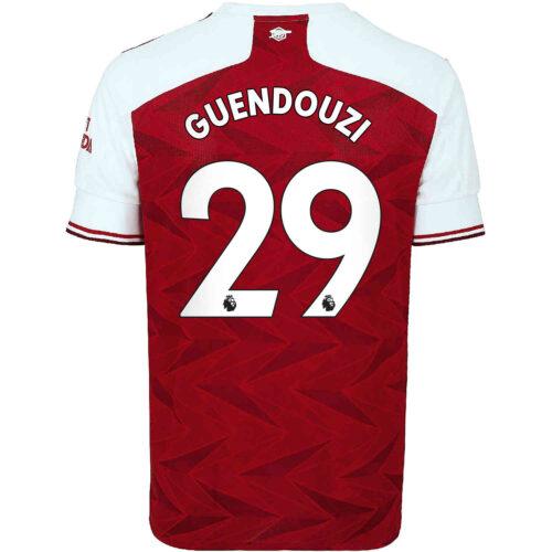 2020/21 Kids adidas Matteo Guendouzi Arsenal Home Jersey