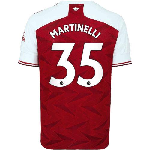 2020/21 Kids adidas Gabriel Martinelli Arsenal Home Jersey