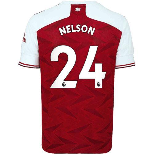 2020/21 Kids adidas Reiss Nelson Arsenal Home Jersey