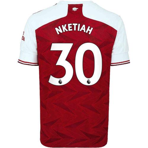 2020/21 Kids adidas Eddie Nketiah Arsenal Home Jersey