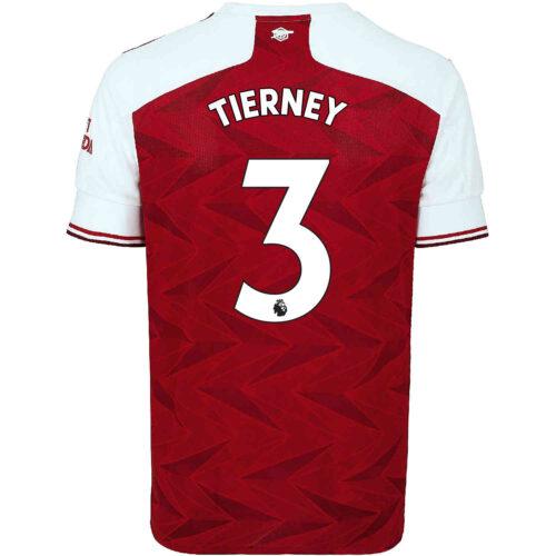 2020/21 Kids adidas Kieran Tierney Arsenal Home Jersey
