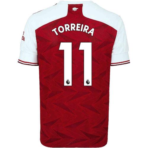 2020/21 Kids adidas Lucas Torreira Arsenal Home Jersey