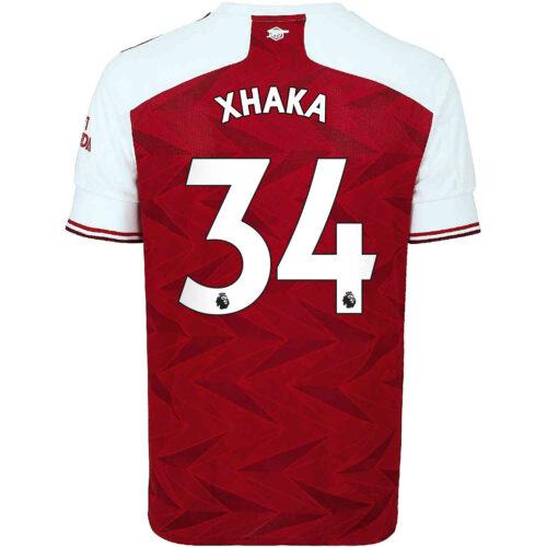 2020/21 Kids adidas Granit Xhaka Arsenal Home Jersey