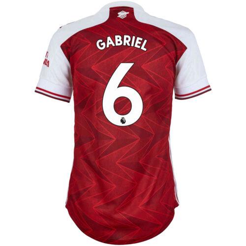 2020/21 Womens adidas Gabriel Arsenal Home Jersey