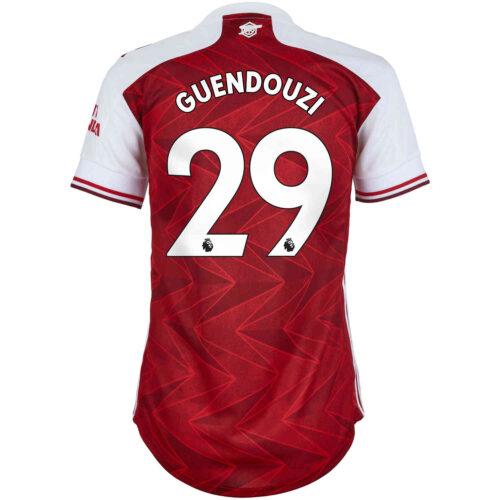 2020/21 Womens adidas Matteo Guendouzi Arsenal Home Jersey
