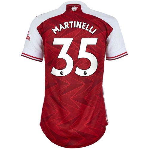 2020/21 Womens adidas Gabriel Martinelli Arsenal Home Jersey