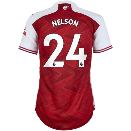 2020/21 Womens adidas Reiss Nelson Arsenal Home Jersey
