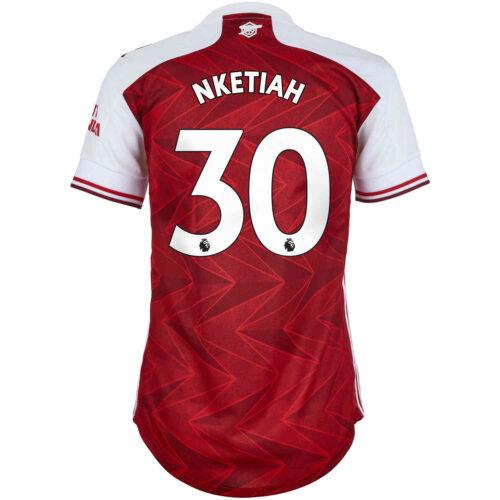 2020/21 Womens adidas Eddie Nketiah Arsenal Home Jersey