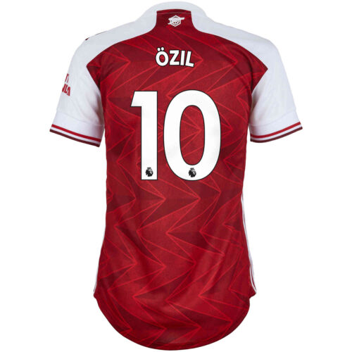 2020/21 Womens adidas Mesut Ozil Arsenal Home Jersey