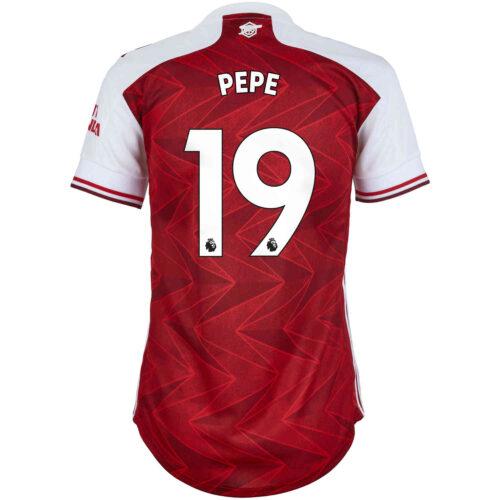 2020/21 Womens adidas Nicolas Pepe Arsenal Home Jersey