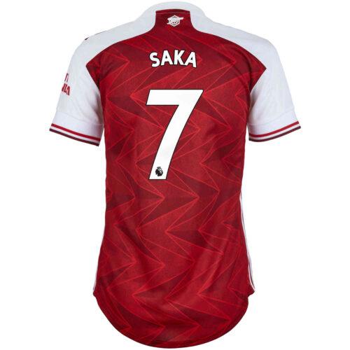 2020/21 Womens adidas Bukayo Saka Arsenal Home Jersey