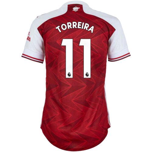2020/21 Womens adidas Lucas Torreira Arsenal Home Jersey