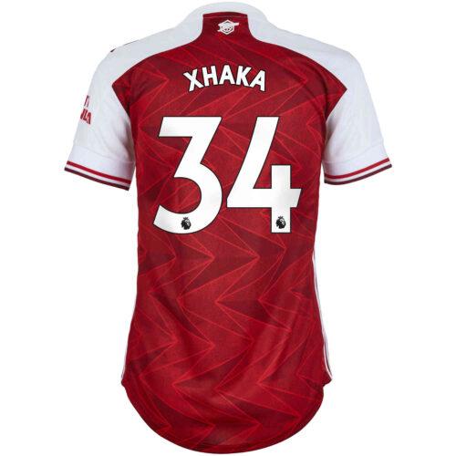 2020/21 Womens adidas Granit Xhaka Arsenal Home Jersey