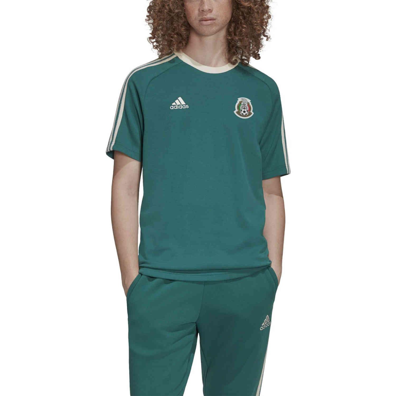 adidas Mexico Icons Tee - Noble Green - SoccerPro