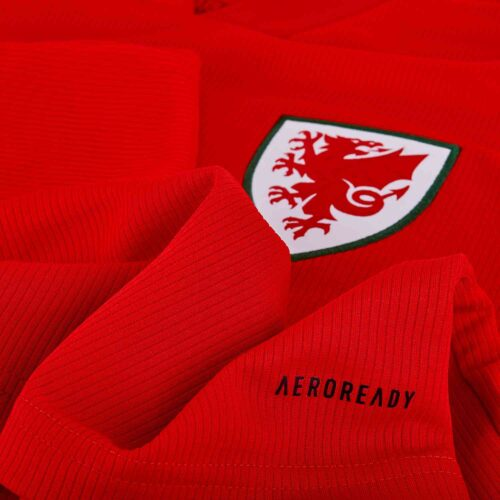 2020 adidas Wales Home Jersey