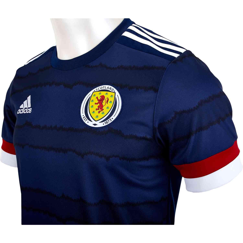 2020 adidas Scotland Home Jersey - SoccerPro
