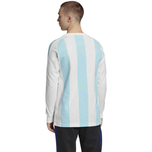 adidas Argentina L/S Retro Jersey – White