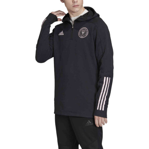 adidas Inter Miami Travel Jacket – Black/Clear Pink