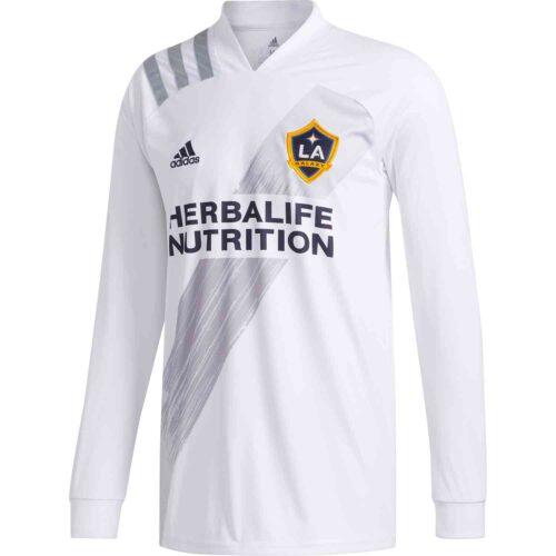 2020 adidas LA Galaxy L/S Home Jersey