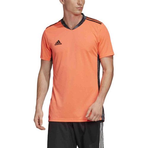 adidas adipro 20 S/S Goalkeeper Jersey – Signal Coral/Black