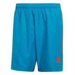 adidas Condivo 20 PB Shorts - Sharp Blue/True Orange - SoccerPro