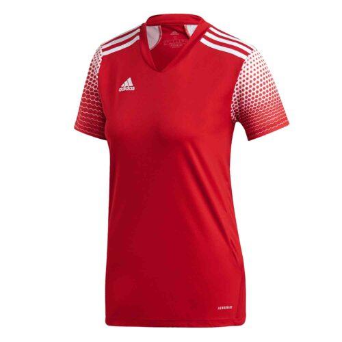 Womens adidas Regista 20 Jersey – Team Power Red/White