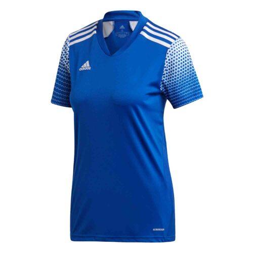 Womens adidas Regista 20 Jersey – Team Royal Blue/White