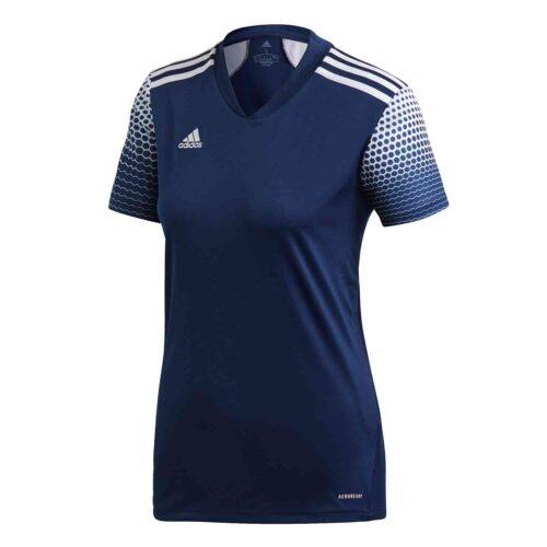Womens adidas Regista 20 Jersey – Team Navy Blue/White