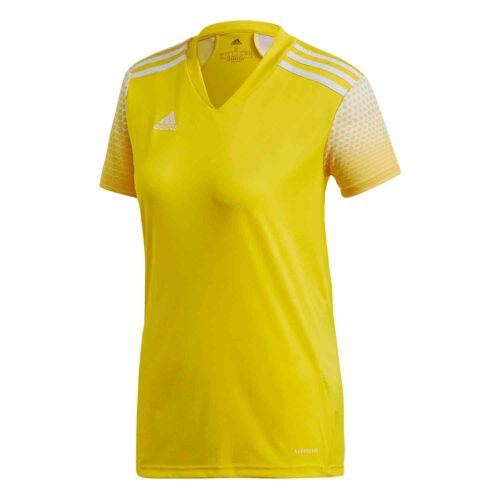 Womens adidas Regista 20 Jersey – Team Yellow/White