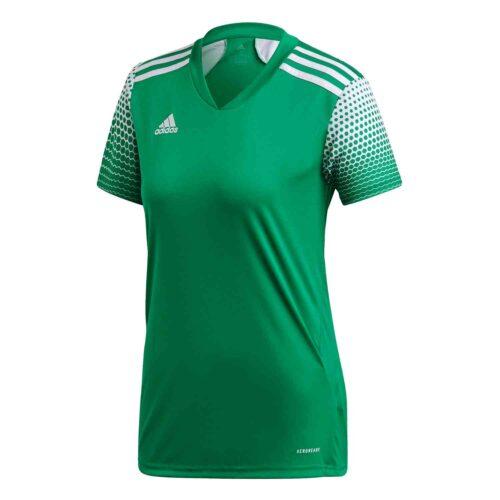Womens adidas Regista 20 Jersey – Team Green/White
