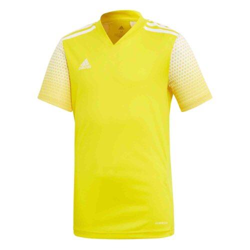 Kids adidas Regista 20 Jersey – Team Yellow/White