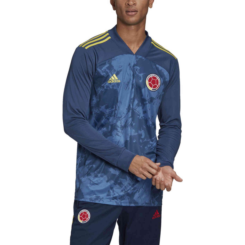 2020 adidas Colombia L/S Away Jersey - SoccerPro
