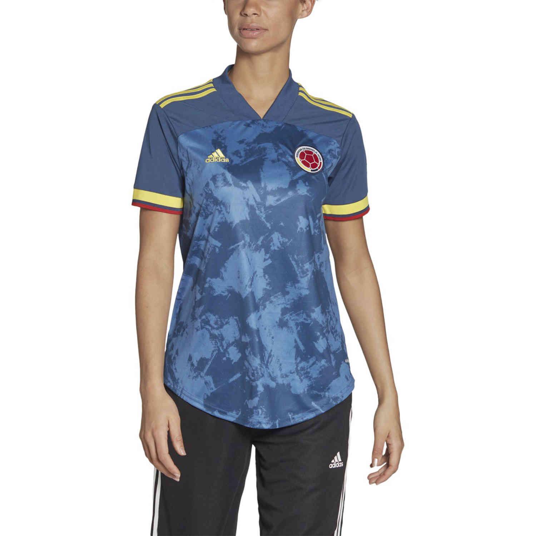 2020 Womens adidas Colombia Away Jersey - SoccerPro