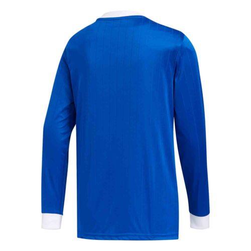 Kids adidas Tabela 18 L/S Jersey – Bold Blue/White