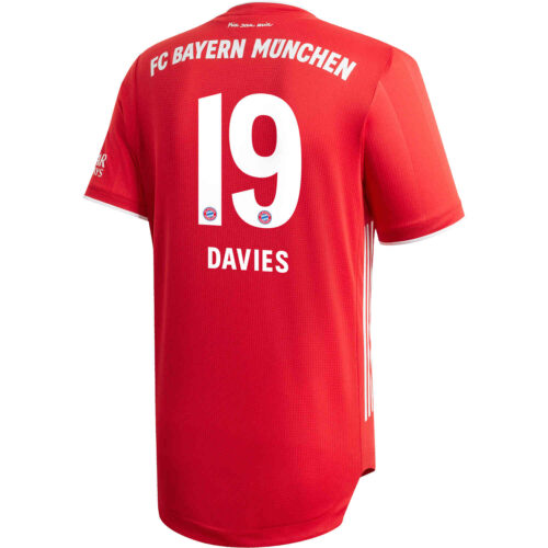 2020/21 adidas Alphonso Davies Bayern Munich Home Authentic Jersey