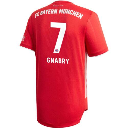 2020/21 adidas Serge Gnabry Bayern Munich Home Authentic Jersey