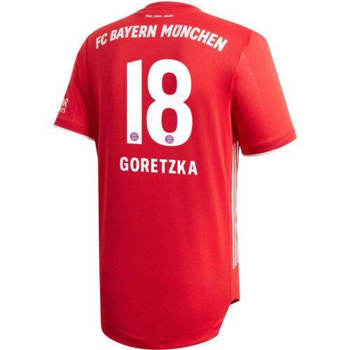 2020/21 adidas Leon Goretzka Bayern Munich Home Authentic Jersey