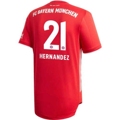 2020/21 adidas Lucas Hernandez Bayern Munich Home Authentic Jersey