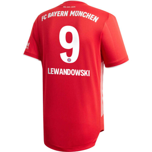 2020/21 adidas Robert Lewandowski Bayern Munich Home Authentic Jersey