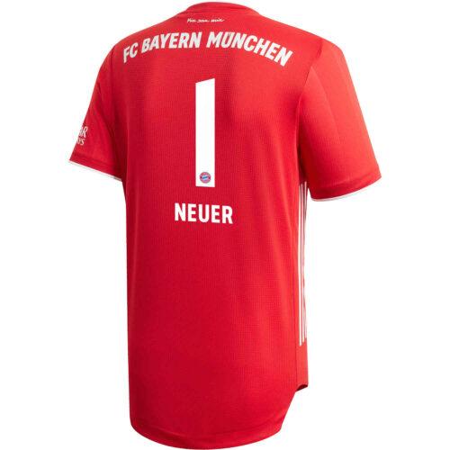 2020/21 adidas Manuel Neuer Bayern Munich Home Authentic Jersey