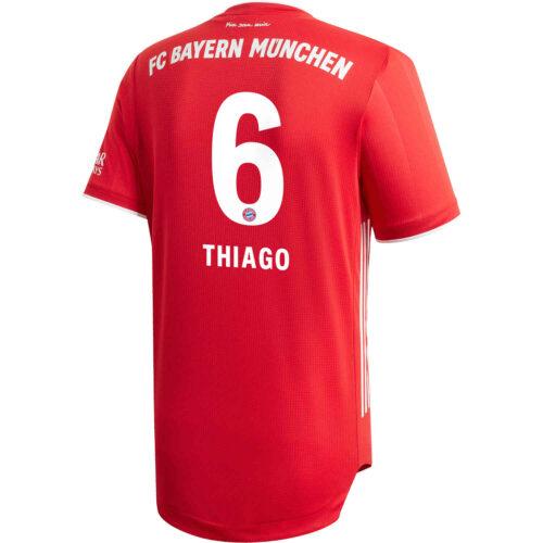2020/21 adidas Thiago Bayern Munich Home Authentic Jersey