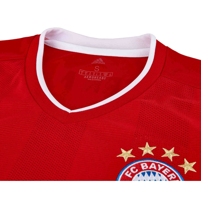 2020/21 Kids adidas Bayern Munich Home Jersey - SoccerPro