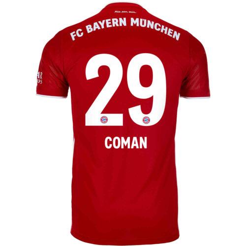 2020/21 Kids adidas Kingsley Coman Bayern Munich Home Jersey